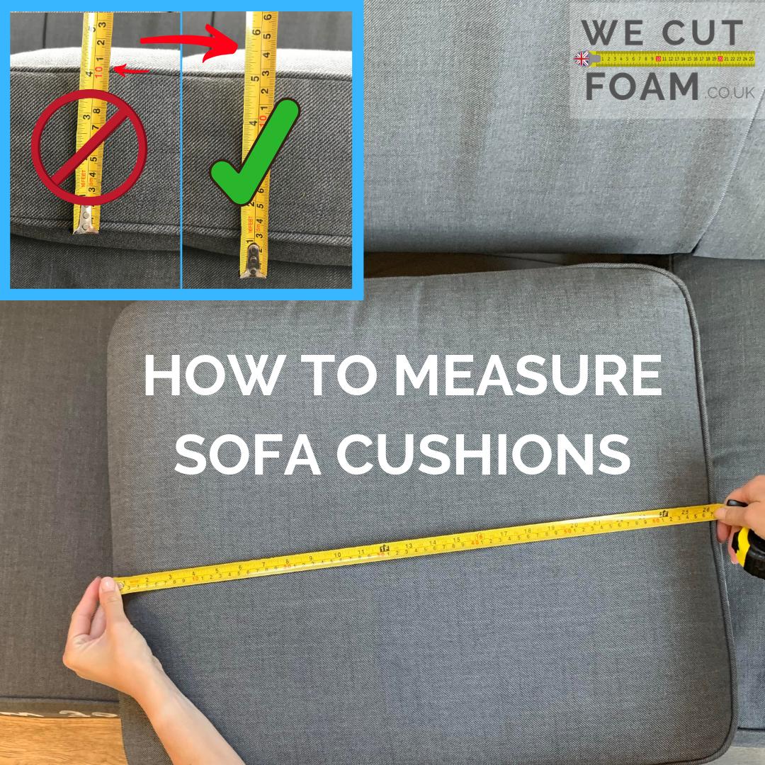 How To Measure Sofa Cushions Video UK