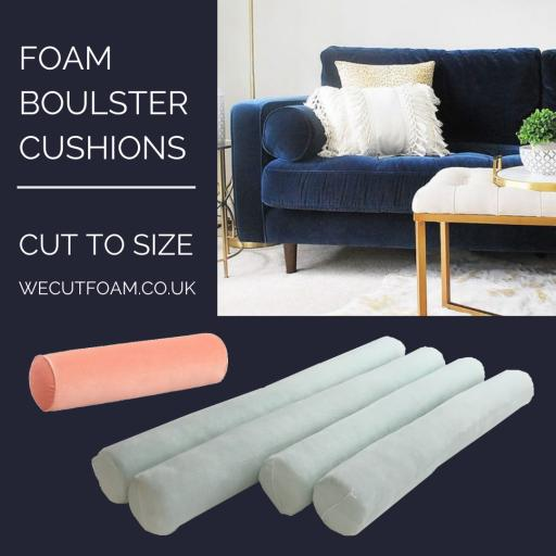 Bolster Cylinder Cushion Cut To Size