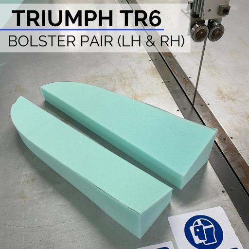 Triumph TR 6 Bolster Side Foam
